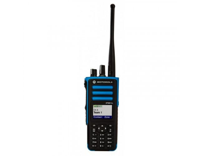 Портативная цифровая радиостанция MOTOROLA DP4801 ATEX