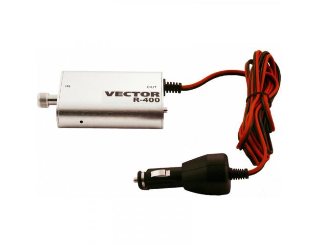 Автомобильный GSM усилитель сигнала (репитер) Vector R-400