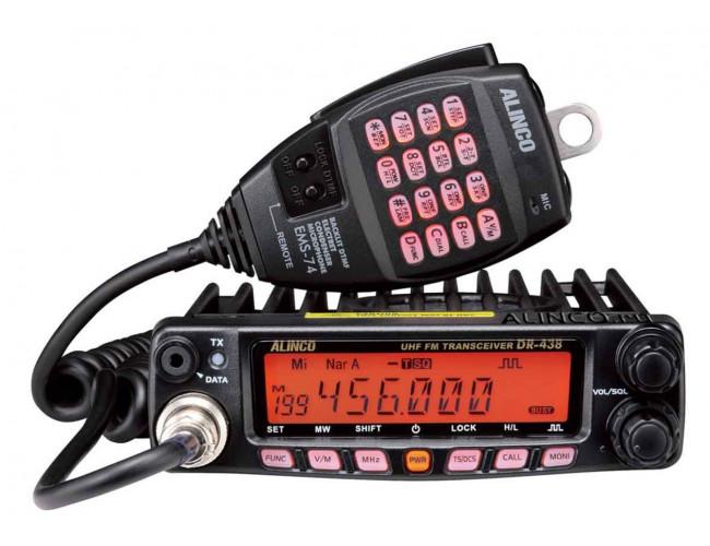 Автомобильная радиостанция ALINCO DR-438 NEW