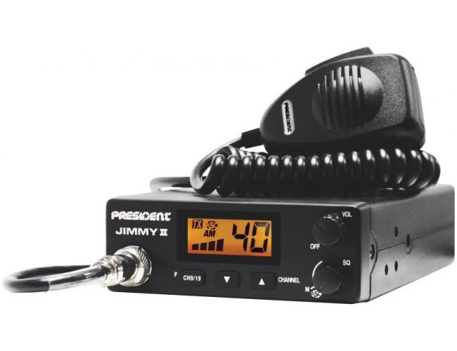 Автомобильная радиостанция PRESIDENT JIMMY II ASC