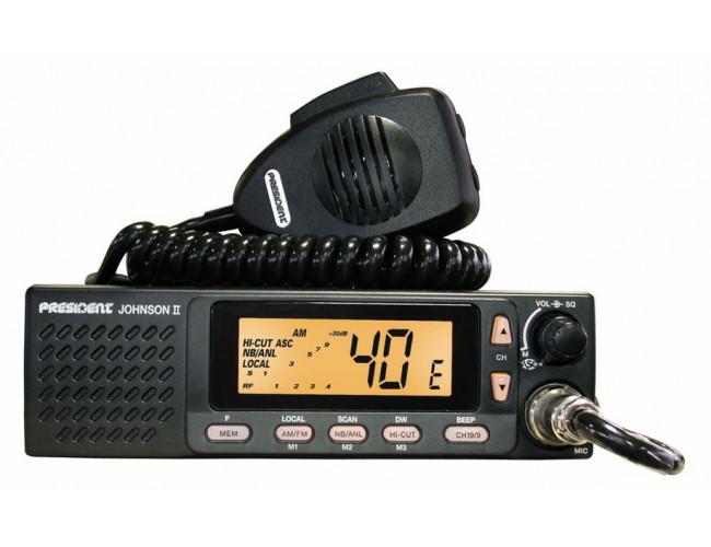 Автомобильная радиостанция PRESIDENT JOHNSON II ASC
