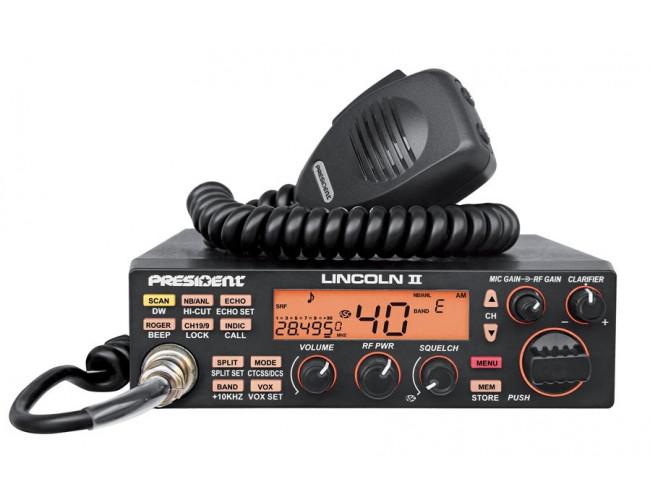 Автомобильная радиостанция PRESIDENT LINCOLN II ASC